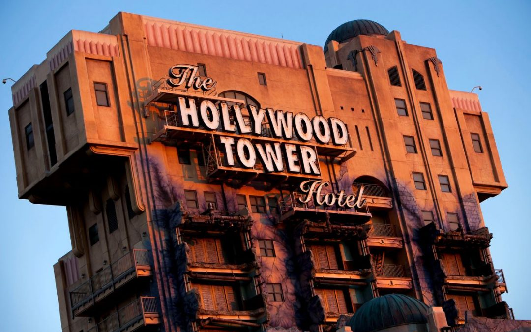 FIVE PEOPLE DIE IN ELEVATOR-HOLLYWOOD STUDIOS