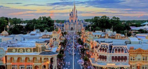 Disney World's Rope Drop