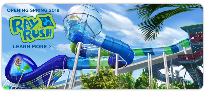 New rides at Aquatica include Ray Rush