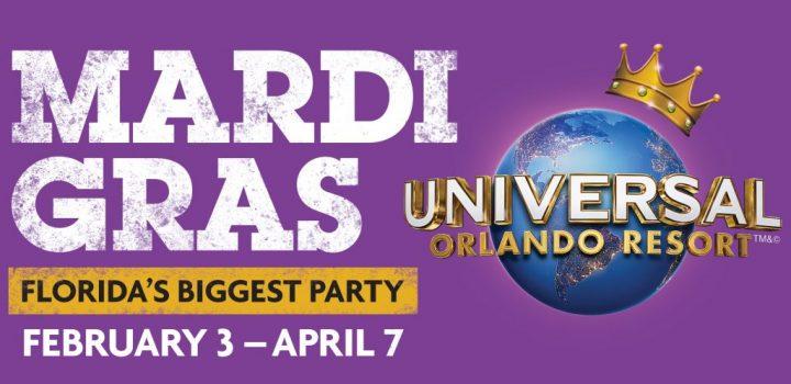 Mardi Gras Party Universal Orlando