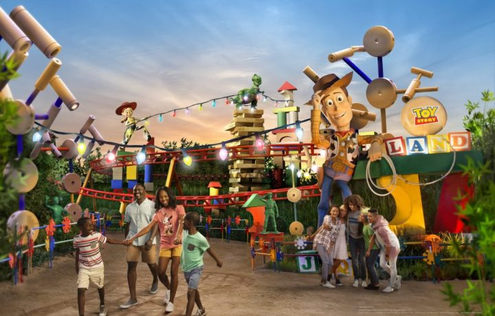 Toy Story Land Hollywood Studios Disney
