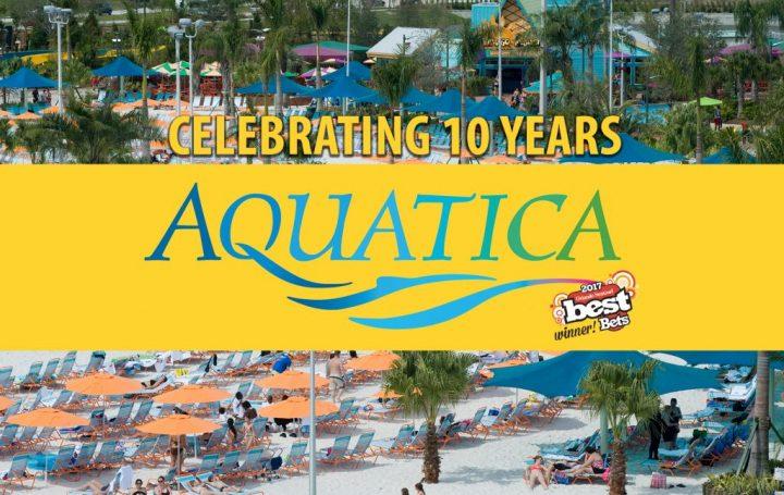 Aqautica 10 years celebration
