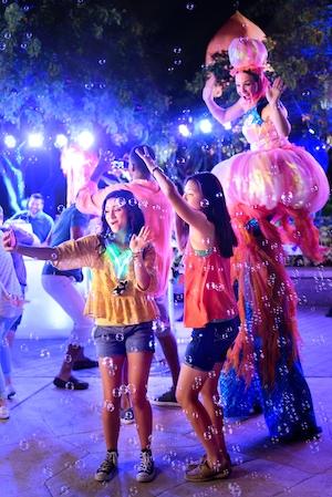 SeaWorld's Electric Ocean Summer Nighttime Excitement