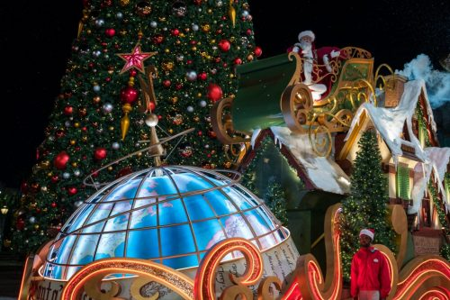 Universal Orlando Resort's Christmas Celebration 2018