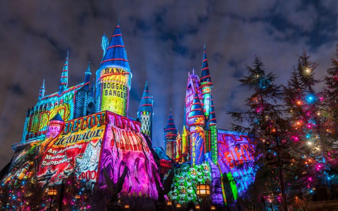 Universal harry Potter castle