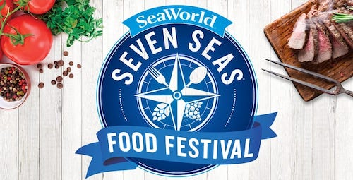 SEAWORLD'S SEVEN SEAS FOOD FESTIVAL RETURNS