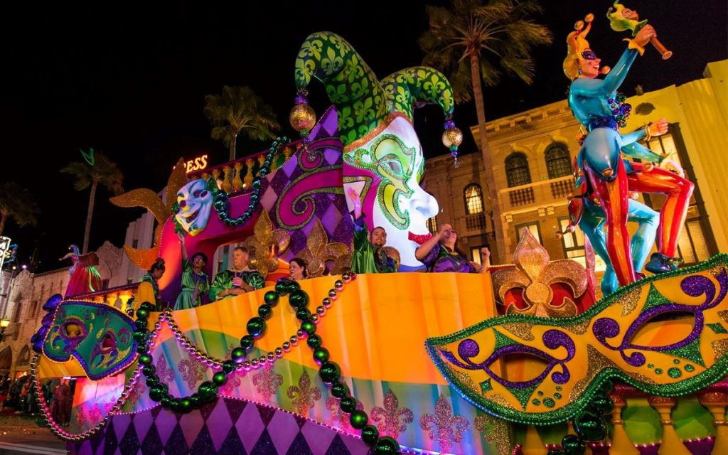Don't' Miss Orlando's Biggest Party - Mardi Gras 2020. Parades and Floats