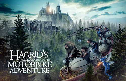 Hagrid's Magical Creatures Motorbike Adventure™ Coming This Summer