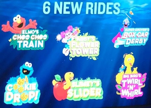 Sesame Street at SeaWorld Orlando Opens this Month