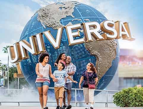 UNIVERSAL ORLANDO MULTI-DAY 2 PARK BASE TICKETS