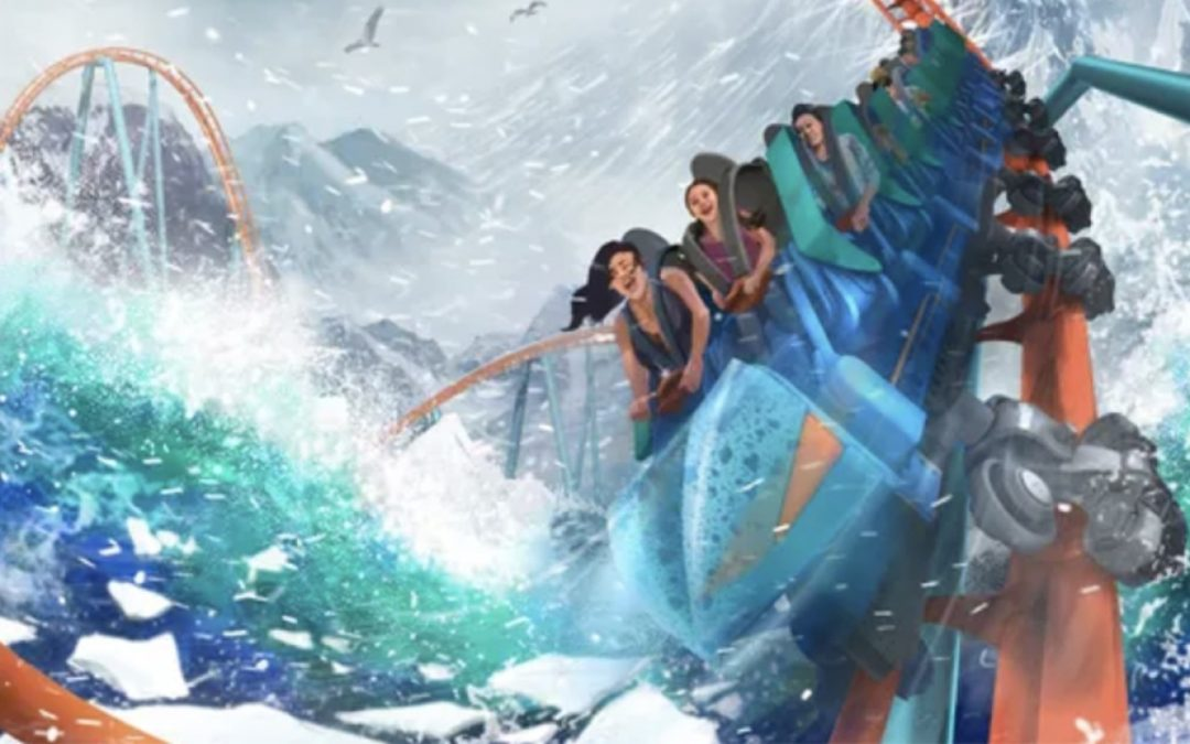 seaworld orlando new coaster
