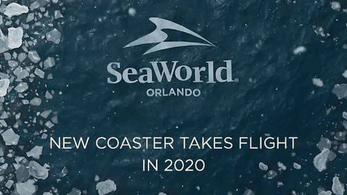 seaworld new roller coaster coming 2020