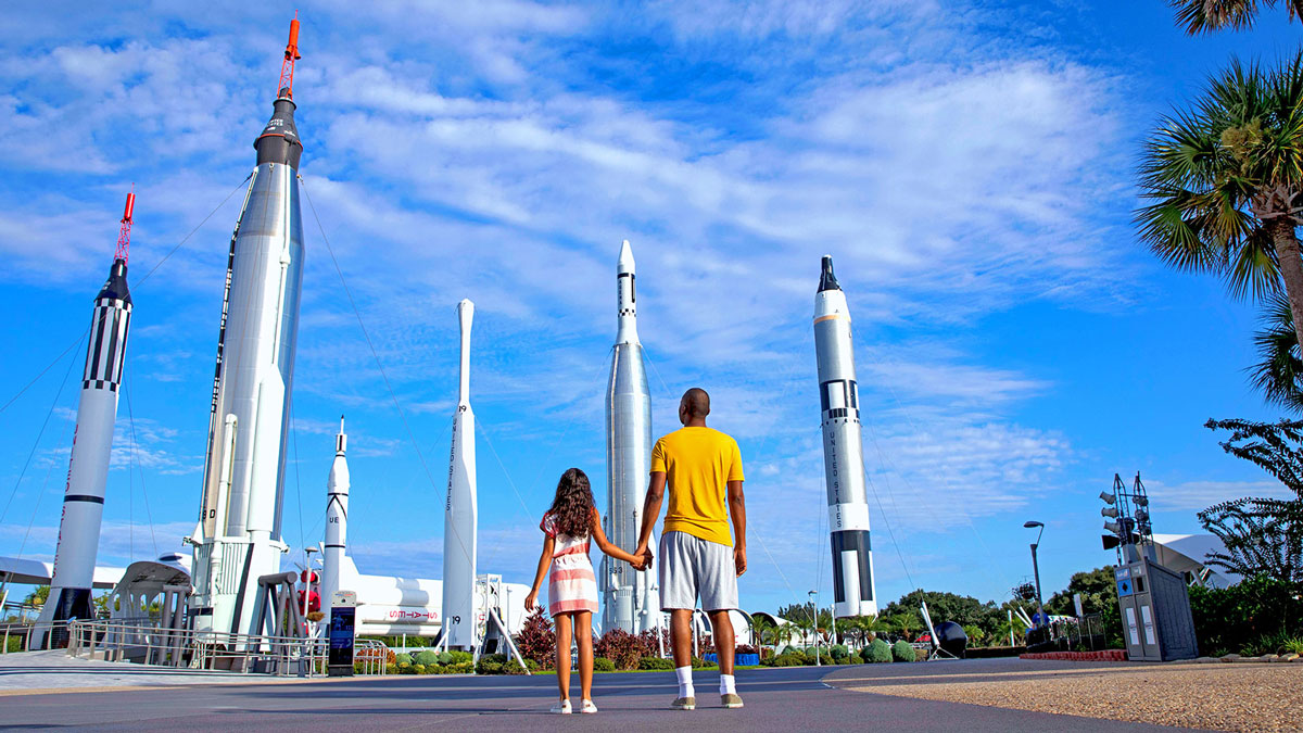 Kennedy Space Center rockets