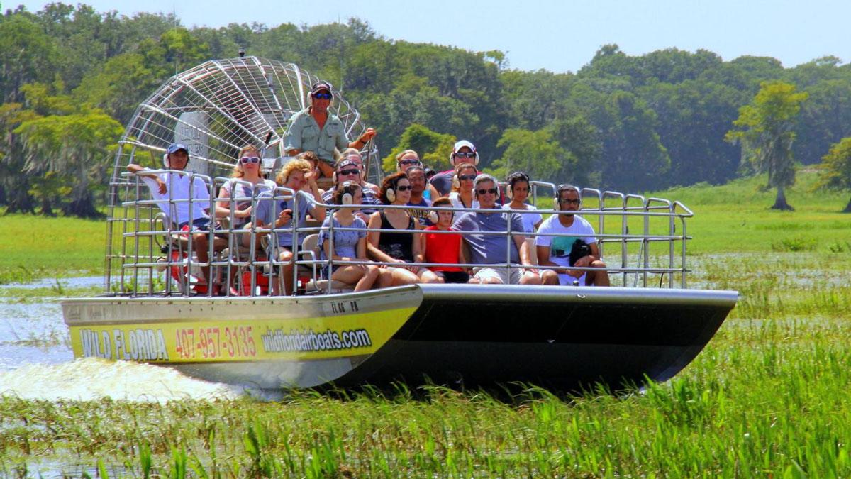 Wild Florida Airboat Tickets