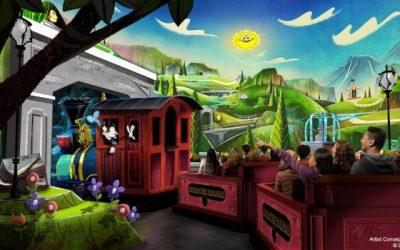 Mickey & Minnie's Runaway Railway Opens March 4, 2020