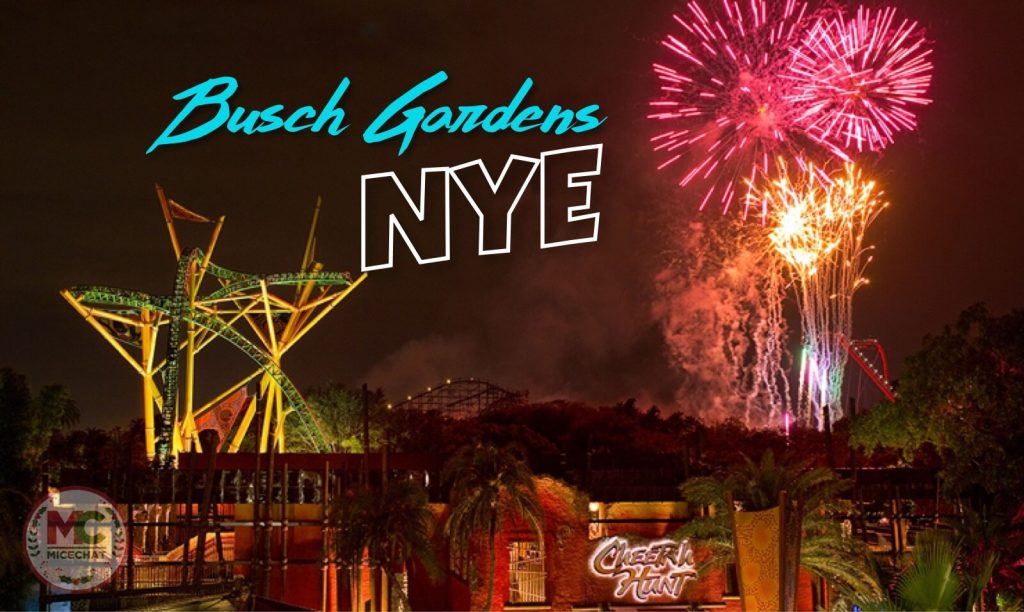 BUSCH GARDEN CELEBRATE'S NEW YEAR'S EVE 2021